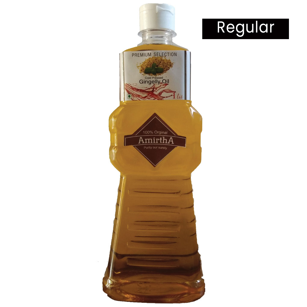 Amirtha Cold Pressed Gingelly / Sesame Oil -Premium