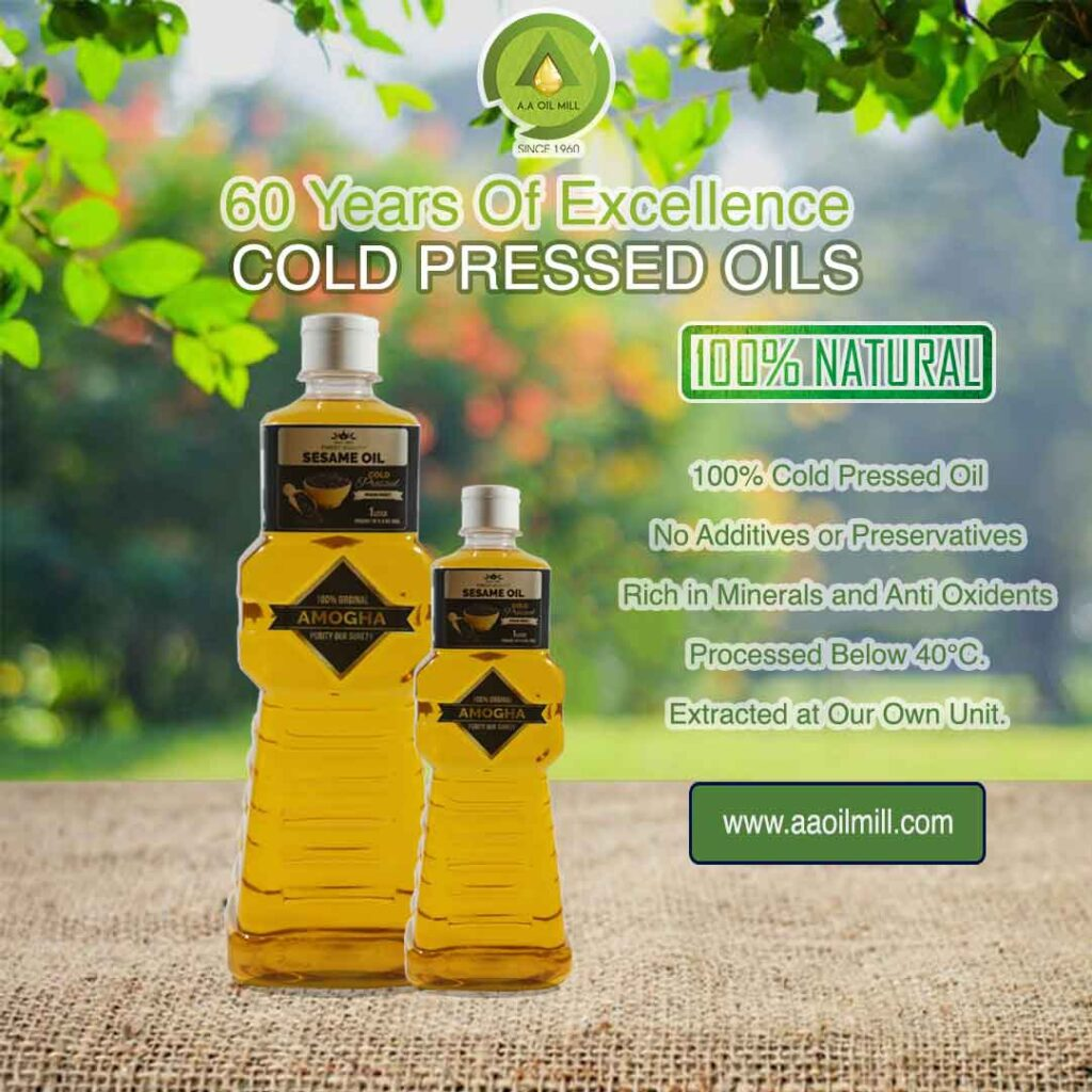 Cold Pressed Oil sesame oil design lite