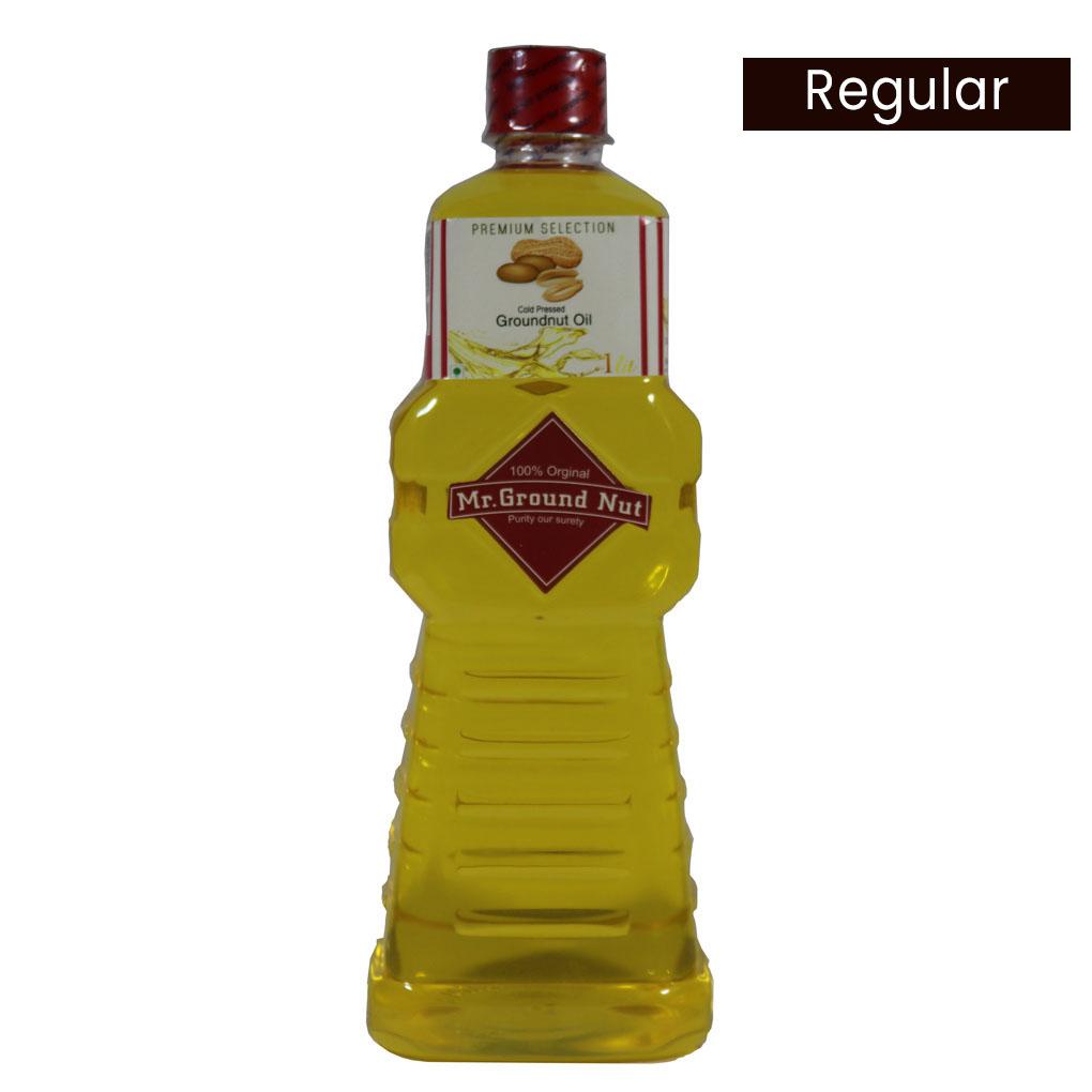 cold pressed premium groundnut oil