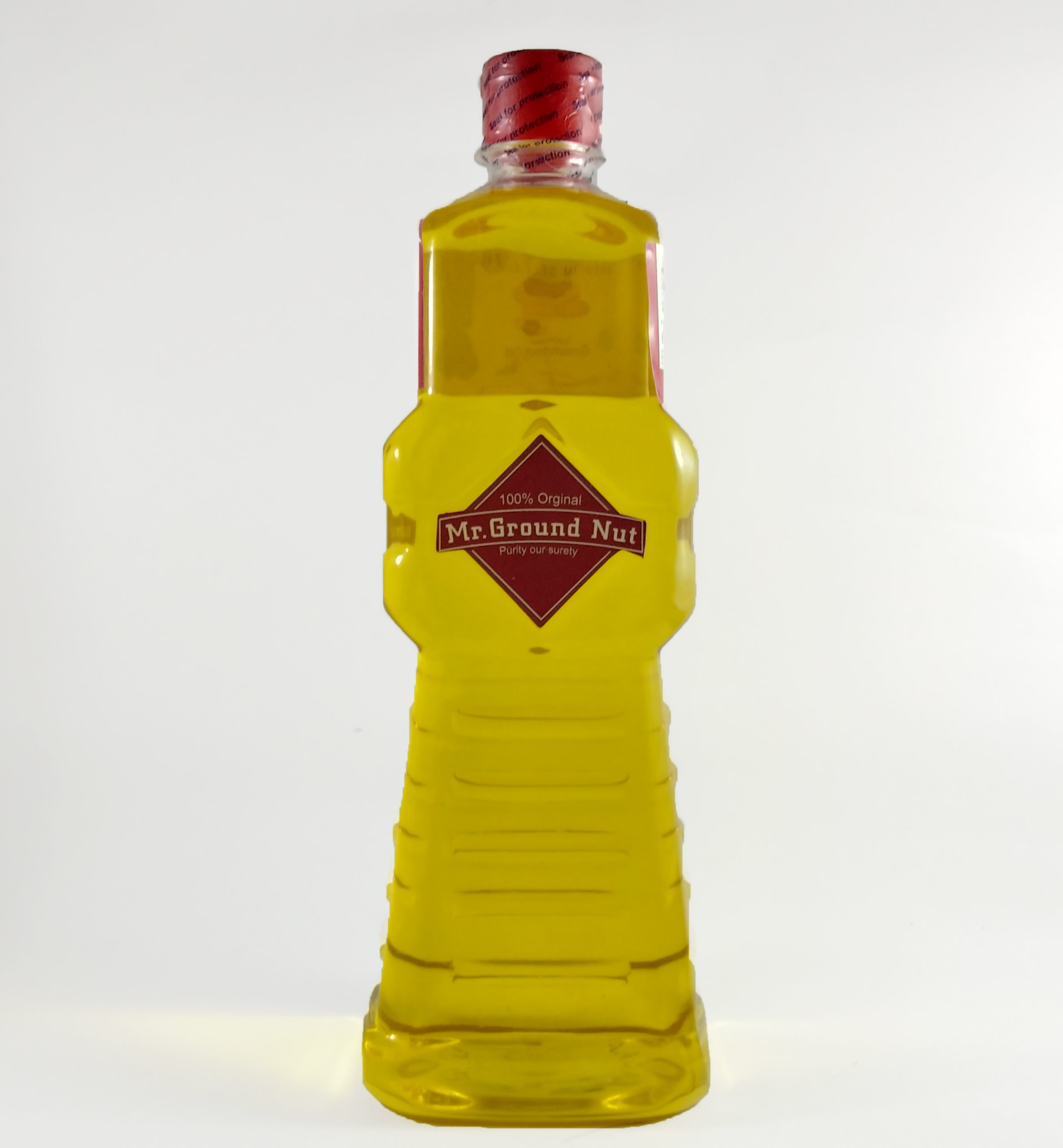 mr.Groundnut cold pressed oil filtered oil