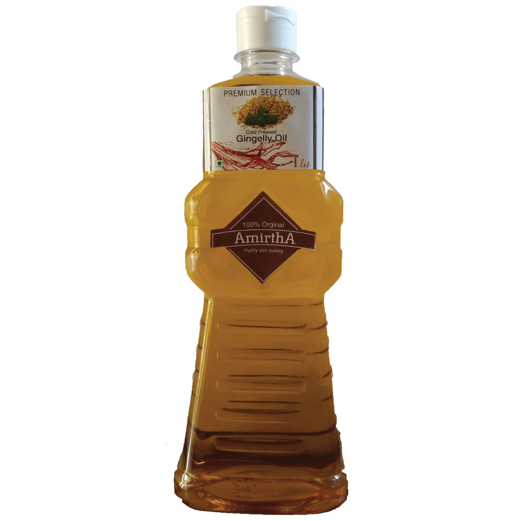 Amirtha Cold Pressed Sesame / Sesame Oil -Classic