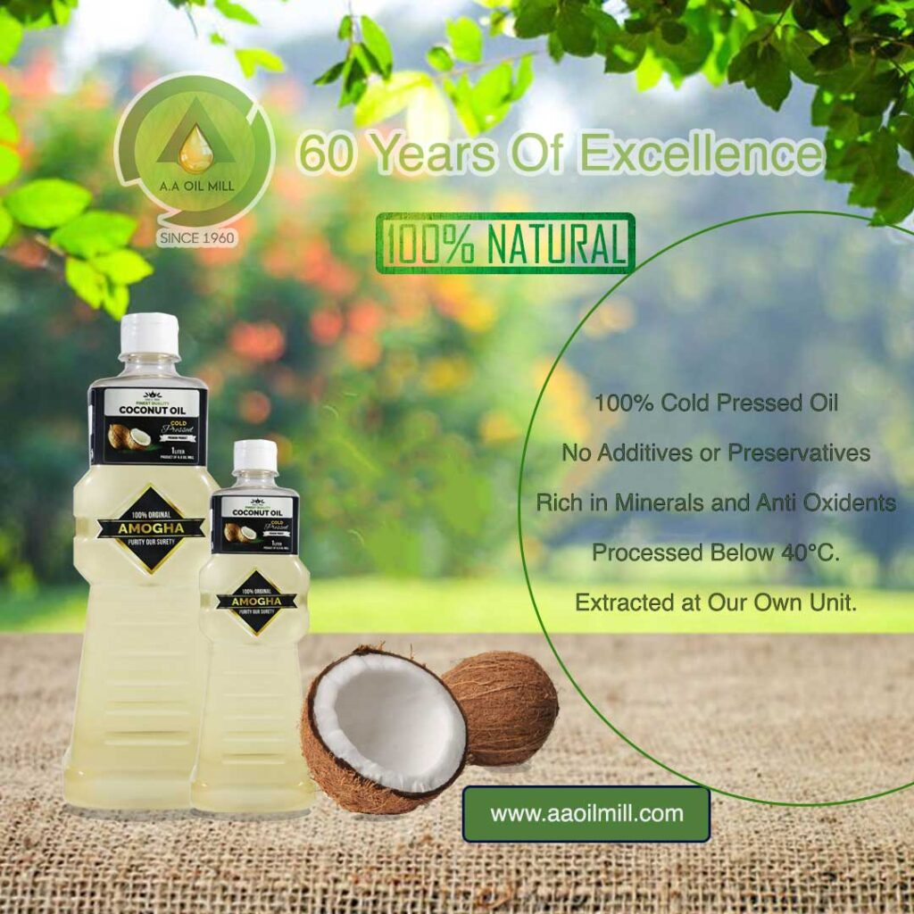 Cold Pressed Oil COCNUT OIL INSTA DESIGN 2 lite
